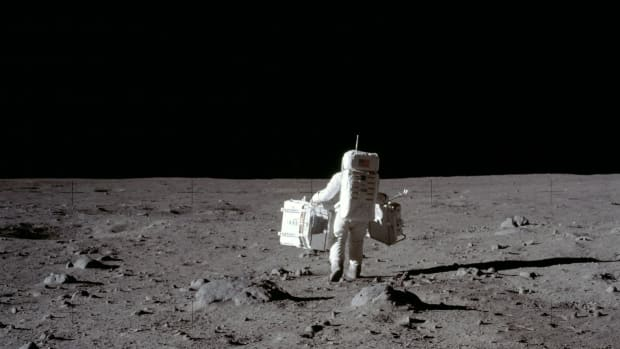 When Buzz Aldrin was nearly stranded on the Moon