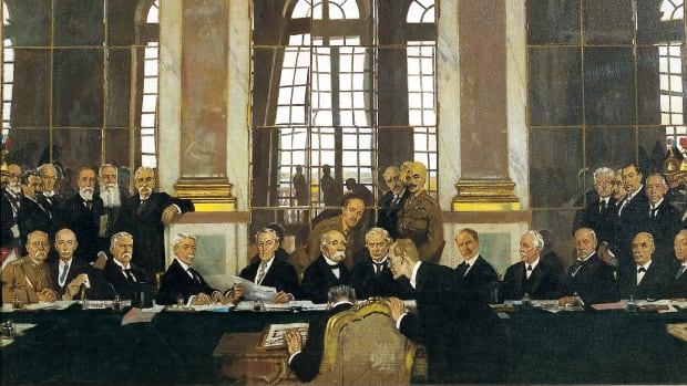 HISTORY: Treaty of Versailles