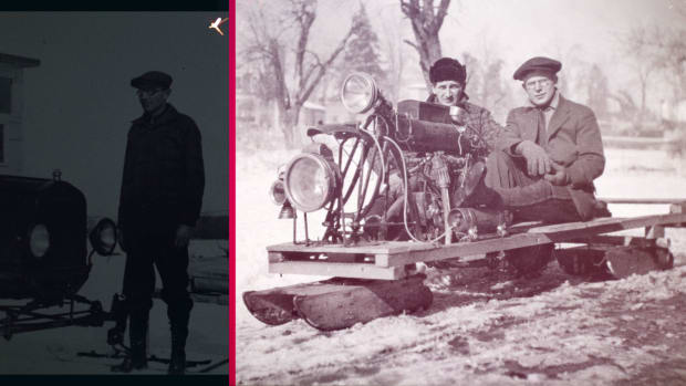 How the Snowmobile Got Its Start