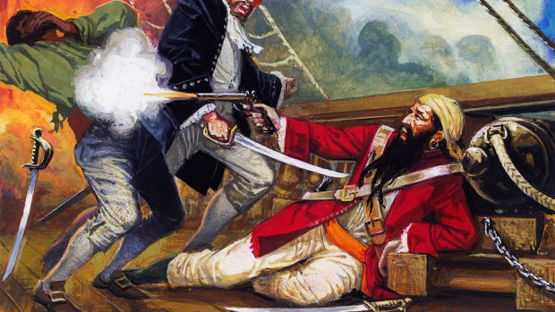 The Death of Blackbeard