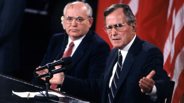 Bush-Cold War-GettyImages-837264806