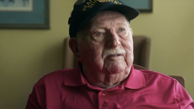 Pearl Harbor Survivor and WWII Veteran Paul Kennedy