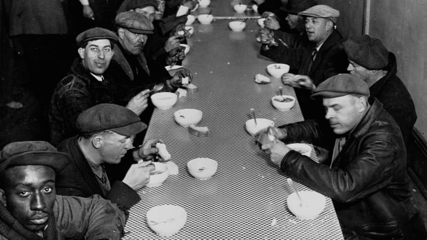 Great Depression Soup Kitchen