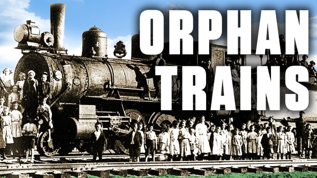Orphan Trains Rescued New York's Homeless Children