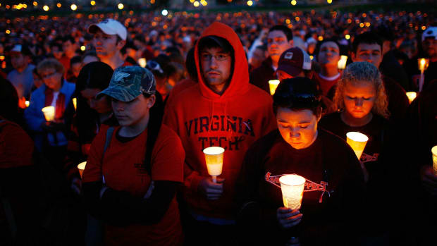 Virginia Tech vigil