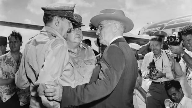 General MacArthur and President Truman