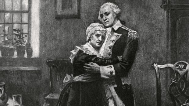 George Washington and his mother