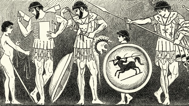 How Ancient Sparta's Harsh Military System Trained Boys Into Fierce Warriors