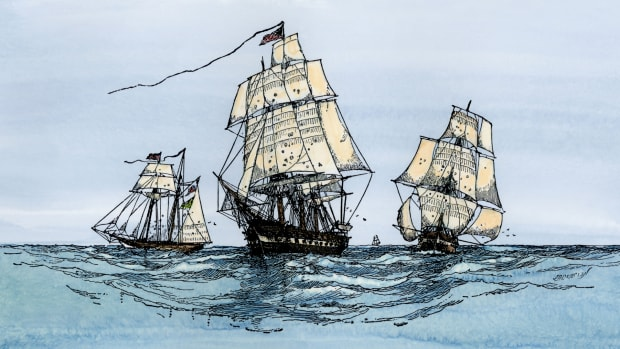 How a Rogue Navy of Private Ships Helped Win the American Revolution