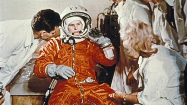 From Sputnik to Spacewalking: 7 Soviet Space Firsts
