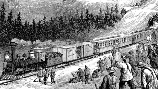 What It Was Like to Ride the Transcontinental Railroad