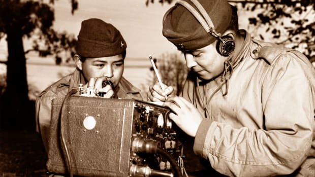 Navajo Code Talkers: Zonnie Gorman