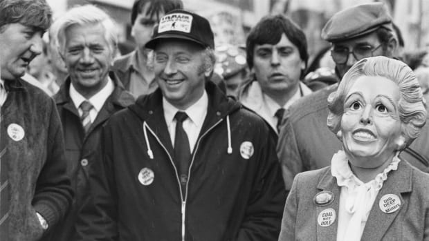 When Margaret Thatcher Crushed a British Miners' Strike