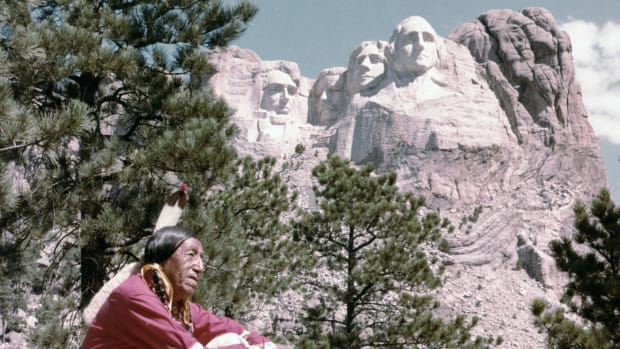 Why Native Americans Have Protested Mt. Rushmore