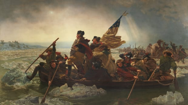 George Washington crosses the Delaware
