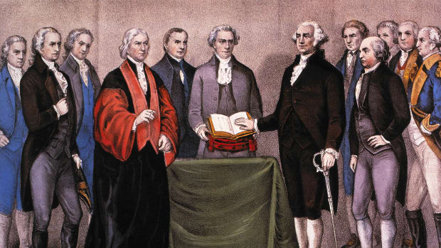 The First Presidential Inauguration: How George Washington Rose to the Office
