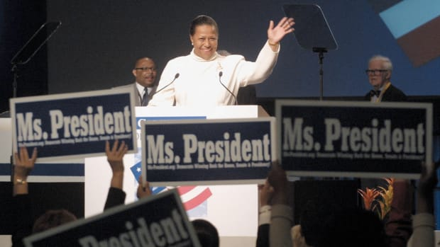 Black Women Who Have Run For President, Carol Moseley Braun