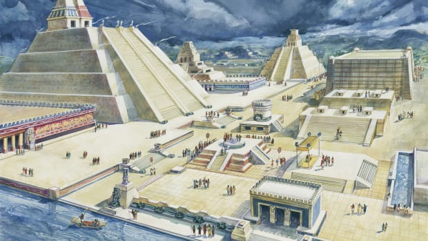 The Aztec Triple Alliance: A Clever Scheme That Built an Empire; Tenochtitlán