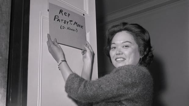This Day In History: Patsy T. Mink sworn in as first Asian American woman and woman of color in Congress, January 4, 1965