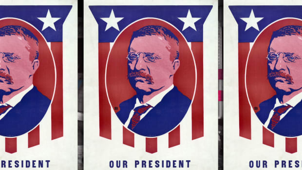 Teddy Roosevelt Takes the Reigns After an Assassination