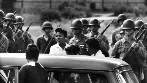 Why Eisenhower Called in the 101st Airborne After Brown v. Board, Little Rock Nine
