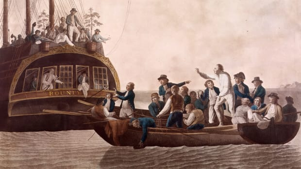 This Day In History: Mutiny on the HMS Bounty, April 28, 1789