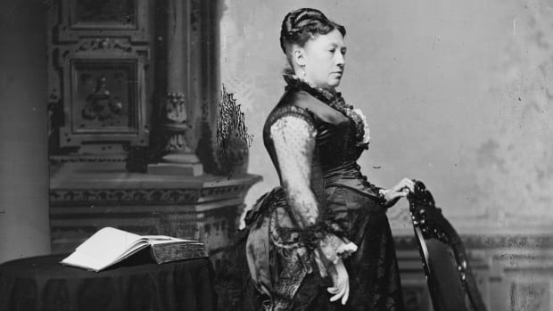 HISTORY: Julia Grant, wife of Ulysses S. Grant