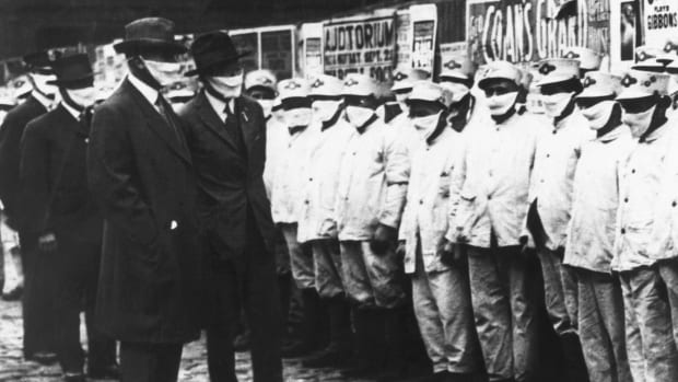 1918 Flu pandemic mask-wearing rules