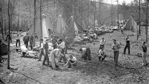 Civilian Conservation Corps camp (CCC)