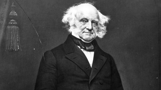 Martin van Buren, First President Born an American Citizen