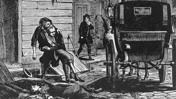 1793 Yellow Fever epidemic, Philadelphia