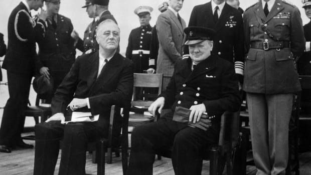 President Franklin Roosevelt and Prime Minister Winston Churchill, 1941, The Secret British Campaign to Persuade the U.S. to Enter WWII