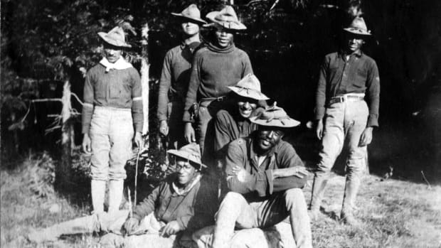 Buffalo Soldiers, 25th Infantry