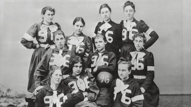 The Lithuanian Immigrant Who Launched the First Women's College Basketball Game