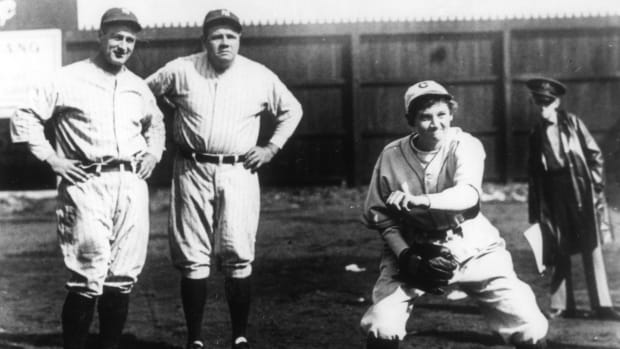 The Teen Girl Who Struck Out Babe Ruth and Lou Gehrig, Jackie Mitchell