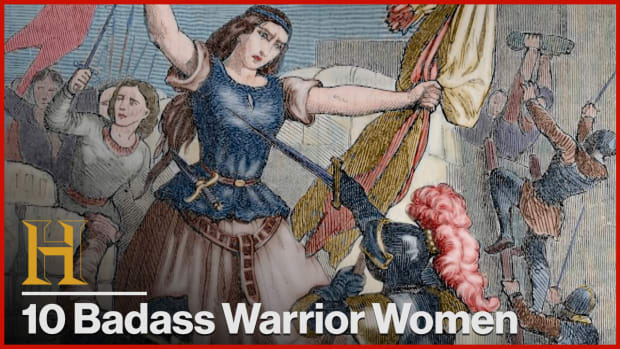 10 Badass Warrior Women in History