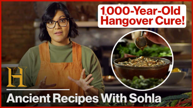 Sohla Cooks a 1,000-Year-Old Hangover Cure | Ancient Recipes with Sohla