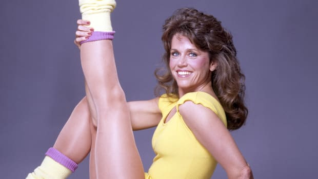 This Day In History: Jane Fonda's first workout video released, April 24, 1982