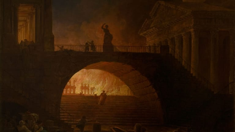 Did Nero Really Fiddle While Rome Burned?