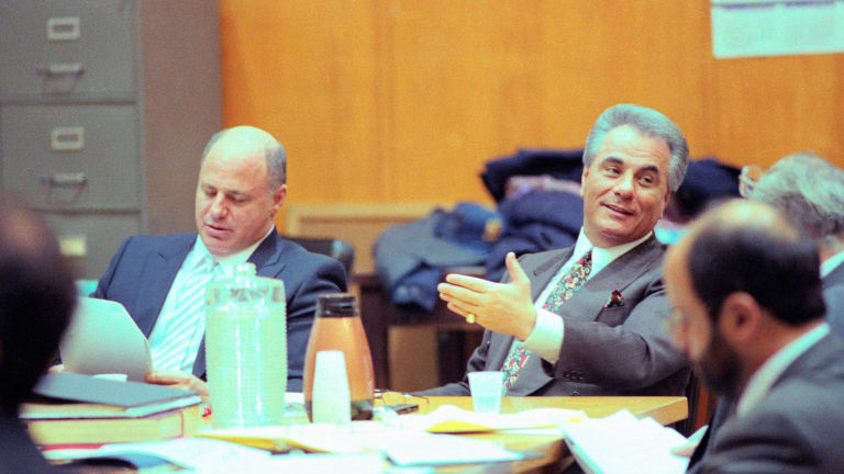 "Mafia boss John Gotti, aka ""Teflon Don,"" sentenced to life"