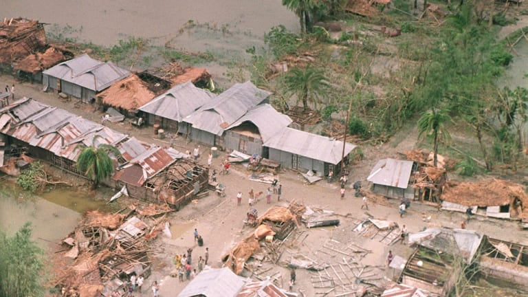 Bangladesh cyclone of 1991