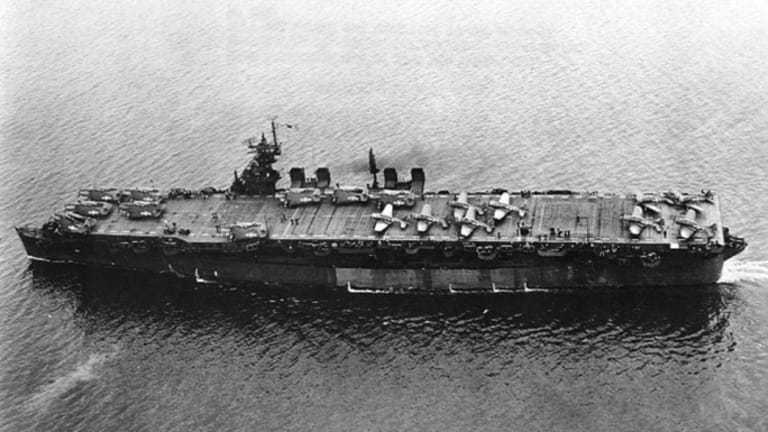 WWII Aircraft Carrier Used in Atomic Bomb Tests Found Intact on Sea Floor