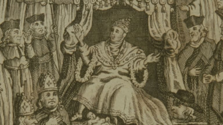 Who was Pope Joan?