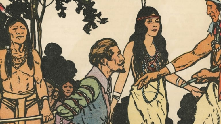 How a Romanticized Take on Pocahontas  Became a Touchstone of American Culture