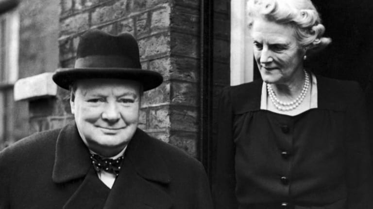 Meet The Woman Behind Winston Churchill History