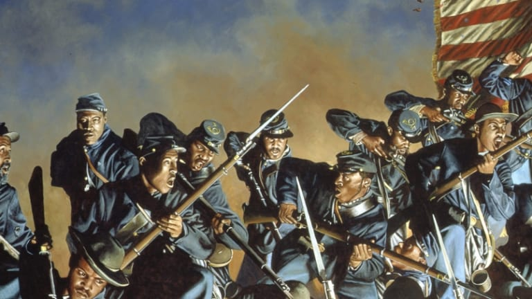 """Glory"" Regiment Attacks Fort Wagner, 150 Years Ago"