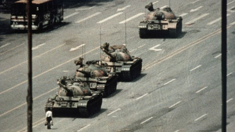 Who Was the Tank Man of Tiananmen Square?