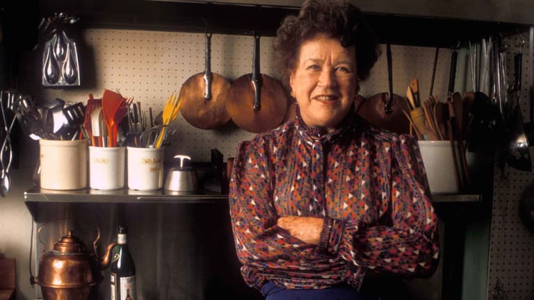 Julia Child's Spy Days Included Work on a Shark Repellent