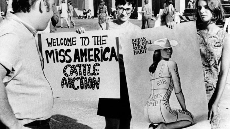Feminists Protested Miss America as a 'Cattle Auction' 50 Years Ago