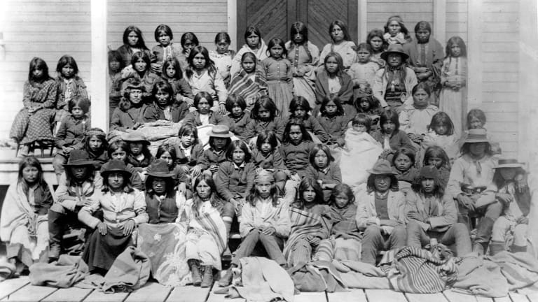 Government Boarding Schools Once Separated Native American Children From Families